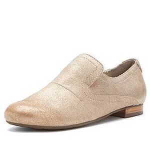 OTBT Upland Slip-Ons in Metallic Taupe